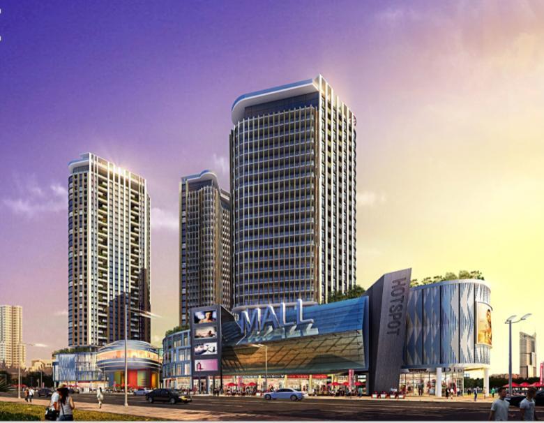 贝城商业广场设计